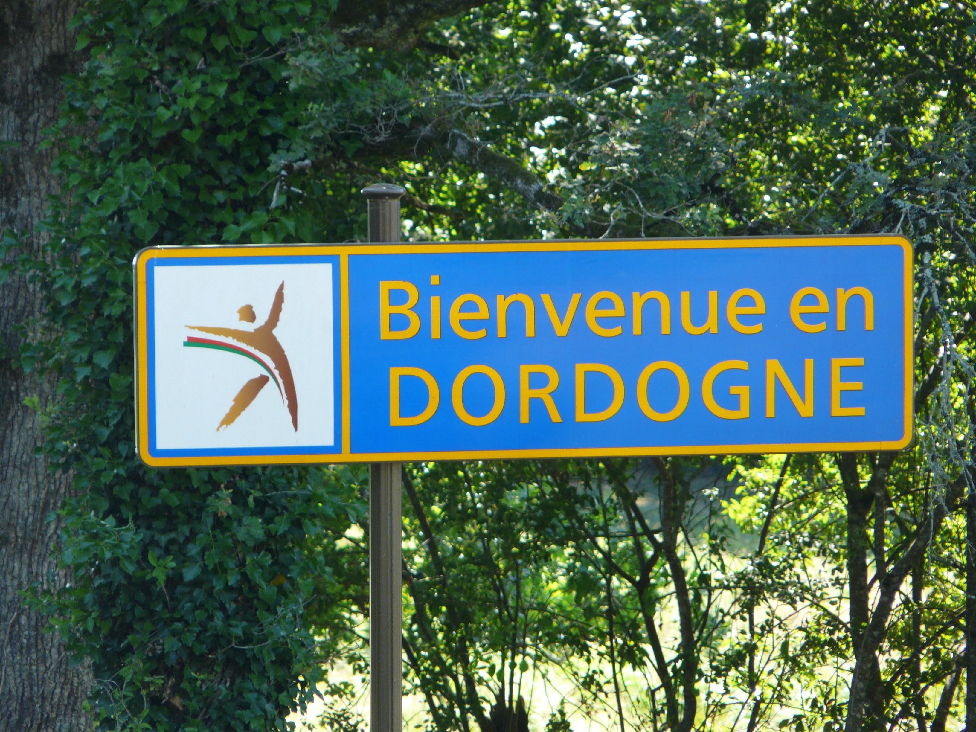 Dordogne entrée gite Grand Jaure