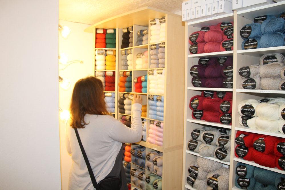 magasin de laines plassard dans les Vosges